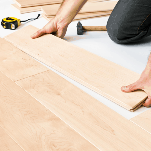 Joiner-laying-floor-in-house-in-Sheffield